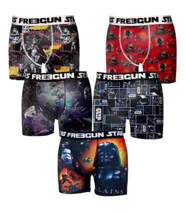 Boxers Boyz Microfibre lot de 5, Freegun Star Wars