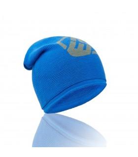 Bonnet homme Logo bleu
