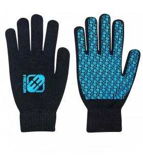 Paire de gants Homme LOGO Bleu FREEGUN