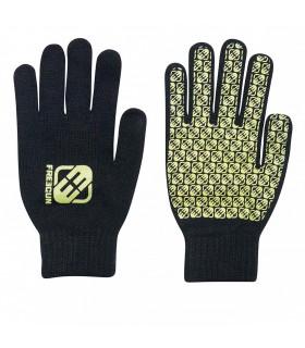 Paire de gants Garçon LOGO Jaune FREEGUN