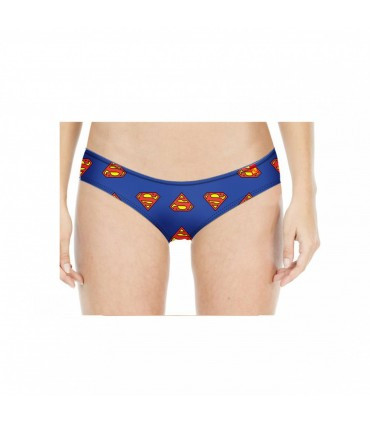 Tanga Femme Soft Touch Dos Dentelle Superman