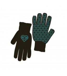 Paire de gants Fille LOGO Bleu FREEGUN