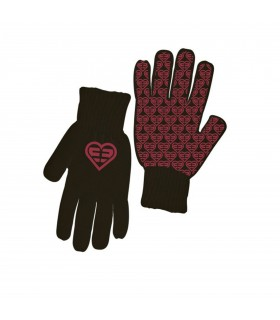 Paire de gants Fille LOGO Rose FREEGUN