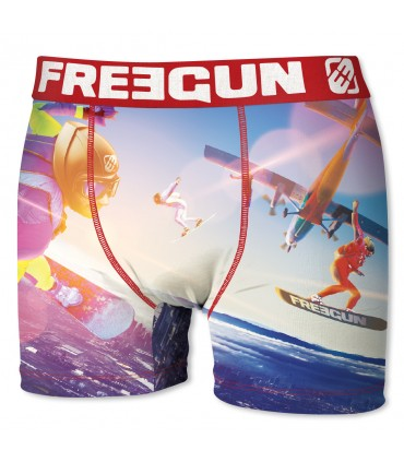 Lot de 4 boxers homme FREEGUN