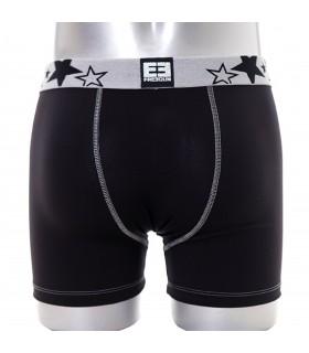 Boxer Homme Blacky argent