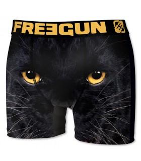 Boxer Homme Freegun Panthère Noir