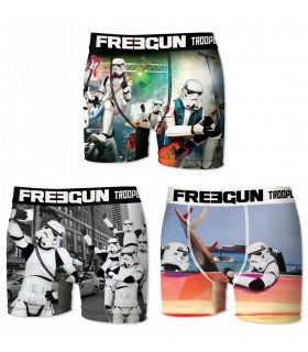 Lot de 3 Boxers homme Stormtrooper Multicolore