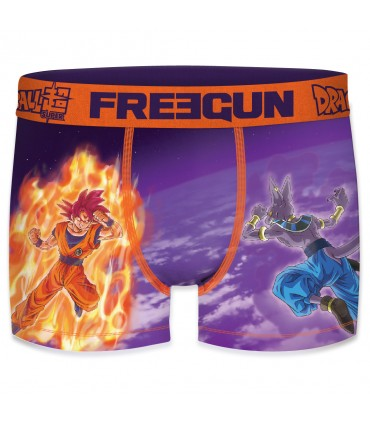 Lot De 4 Boxers Garcon Freegun Dragon Ball Super