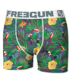 Lot de 3 boxers Garçon Freegun Sable Fin Multicolore