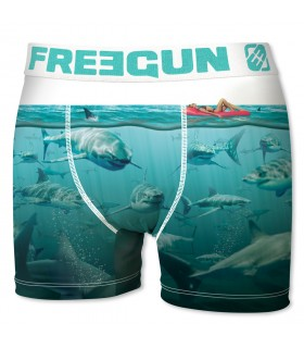 Lot de 5 boxers Garçon Freegun Cap Multicolore