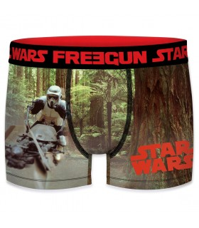 Boxer Homme Starwars FreegunFreegun Starwars Stormtrooper Marron