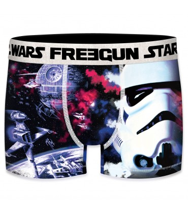 Lot de 5 boxers Homme Freegun Starwars L'Empire Multicolore