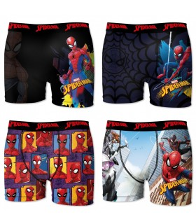 Lot de 5 boxers Homme Freegun Spider-Man Marvel Multicolore