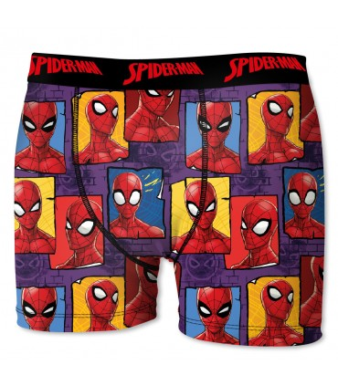 Pack of 4 men's Ultimate Spider-Man Boxers