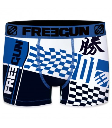 Lot de 4 boxers Homme Freegun Multicolore