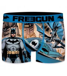 Boxer Homme Freegun DC Comics Fly Bleu