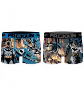 Lot de 2 boxers Homme Freegun DC Comics Multicolore