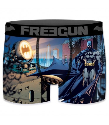 Boxer Garçon Freegun DC Comics Night Bleu