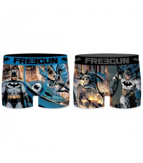 Lot de 2 Boxers Freegun garçon DC Comics Batman