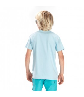 T-shirt Freegun Japan Bleu et Noir