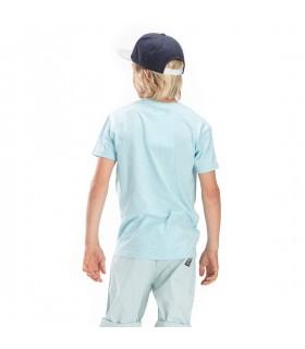T-shirt Freegun Rider Bleu et Blanc