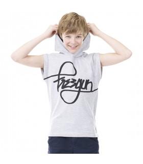 T-shirt Freegun Style Gris et Noir