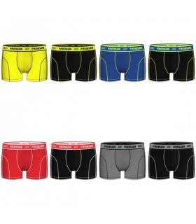 Lot de 8 Boxers Homme Freegun Uni Multicolore