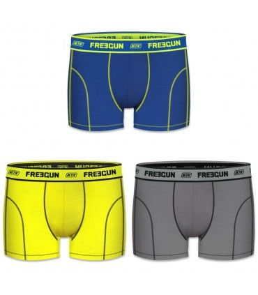 Lot de 3 Boxers garçon Uni Multicolore
