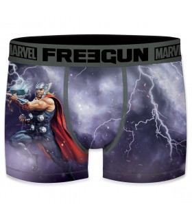 Boxer Garçon Freegun Marvel Thor Violet