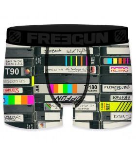 Boxer Homme Freegun Cassette Noir