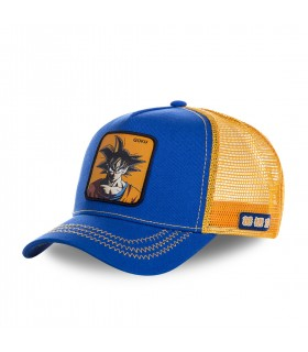 Casquette Capslab Dragon Ball Z Goku Bleu et Orange