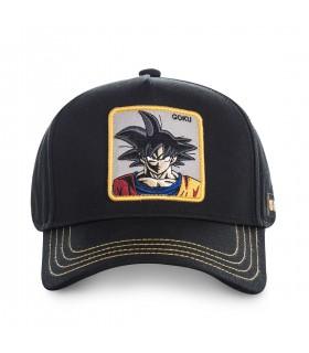 Casquette Capslab Dragon Ball Z Goku Noir Filet Jaune