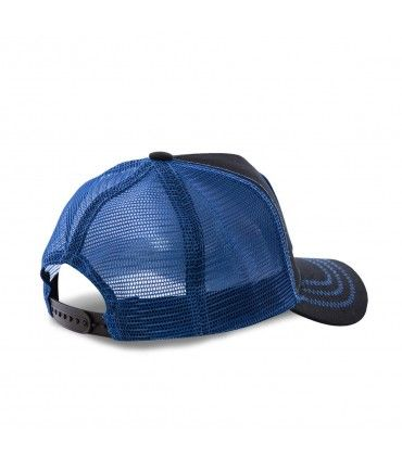 Casquette Capslab Dragon Ball Z Vegeta Saiyen Noir filet Bleu