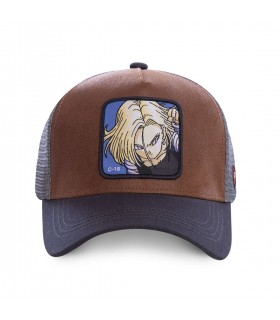Casquette Homme Dragon Ball Z C-18 CapsLabs