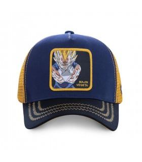 Casquette Capslab Dragon Ball Z Mâjin Vegeta Bleu