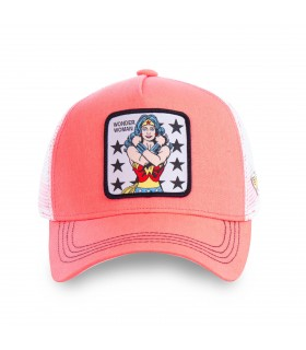 Casquette Capslab Dc Comics Wonder Woman Rose
