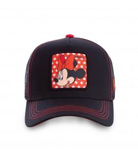 Casquette Capslab Disney Minnie Noir et Rouge