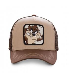 Casquette Capslab Looney Tunes Taz Marron