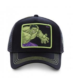 Casquette filet Capslab Marvel Hulk Noir