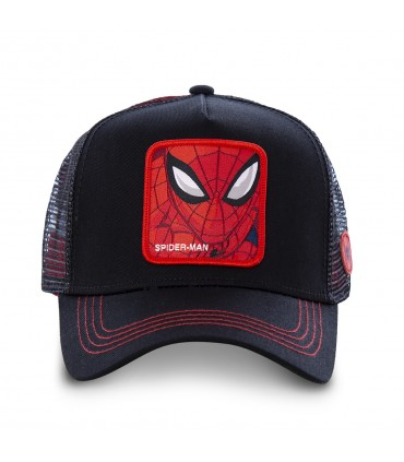 Casquette Filet Capslab Marvel Spider-Man Noir