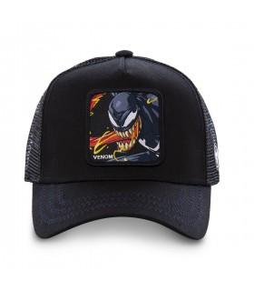 Casquette Capslab Marvel Venom Down Noir