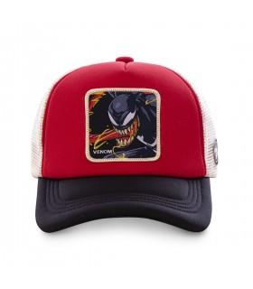Casquette Capslab Marvel Venom Rouge