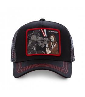Casquette Capslab Star Wars Vador et Obi-Wan Noir