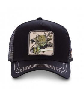 Casquette filet Capslab Star Wars Yoda Noir