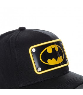 Casquette Capslab Dc Comics Batman Noir