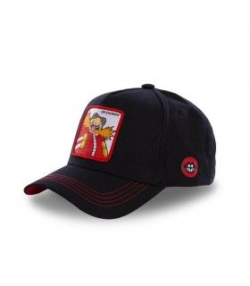 Sonic Dr Eggman Black Cap
