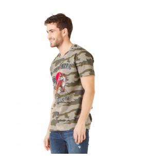 T-shirt Homme Freegun Tiger Imprimé