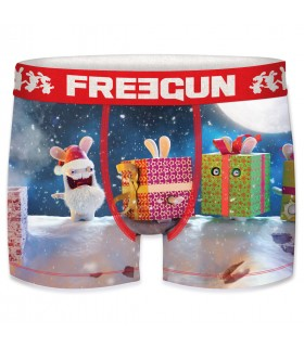 Men's Raving Rabbids Gift Red Boxer