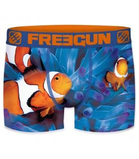 Boxer enfant Freegun Nemo Bleu