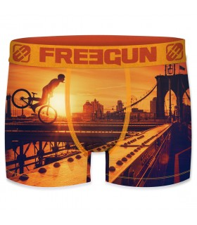 Boxer Homme Freegun Brooklyn Orange